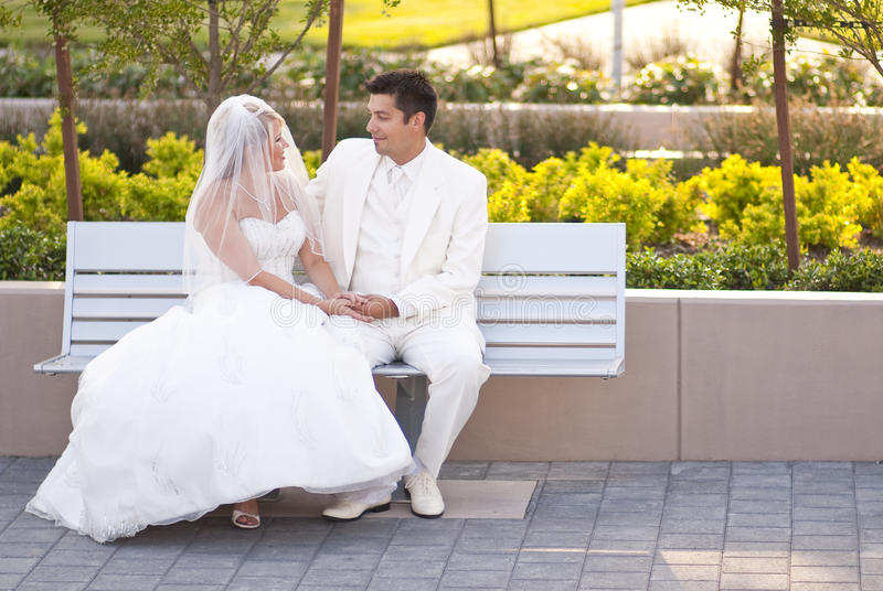 Download Wedding in park stock image. Image of lifestyles, bride - 11113683