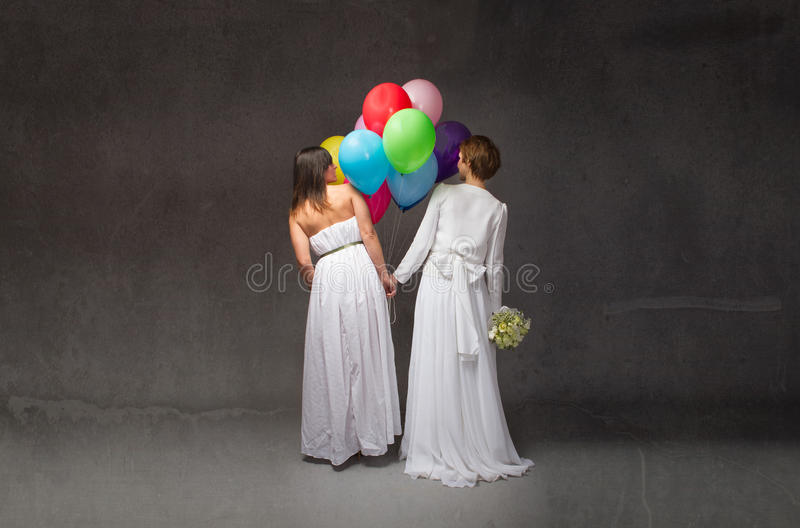 Wedding party concept. Dark background royalty free stock photography