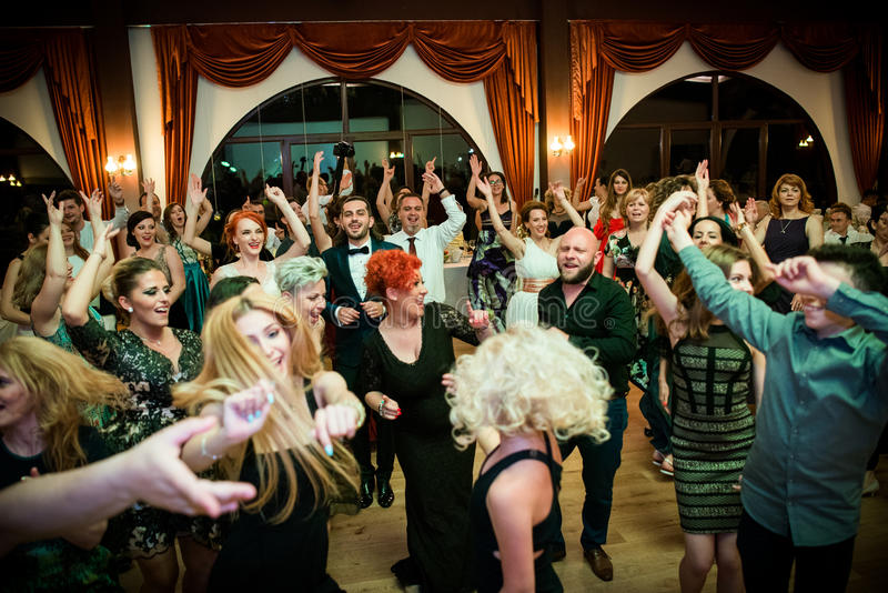 Download Wedding Party Dance Editorial Stock Photo Image Of Birde