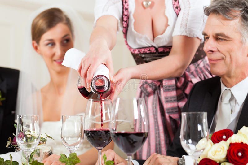 Download Wedding Party At Dinner Stock Photo - Image: 22335570