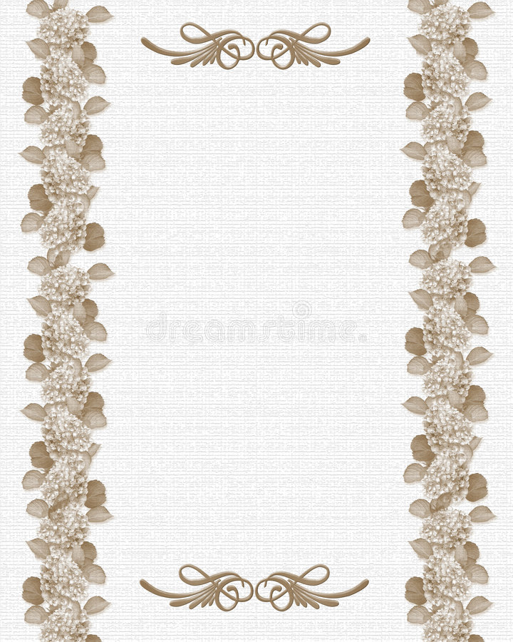 Download Wedding Or Party Invitation Floral Template Royalty Free Stock Images - Image: 6080129