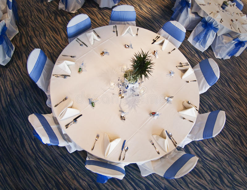 Download Wedding party table stock image. Image of linen, elegant - 19146679