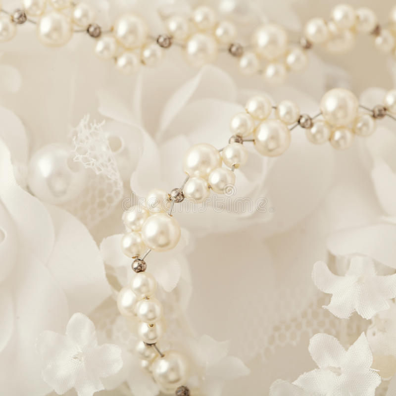 image wedding pearls of photo floral white pearl download necklace background stock