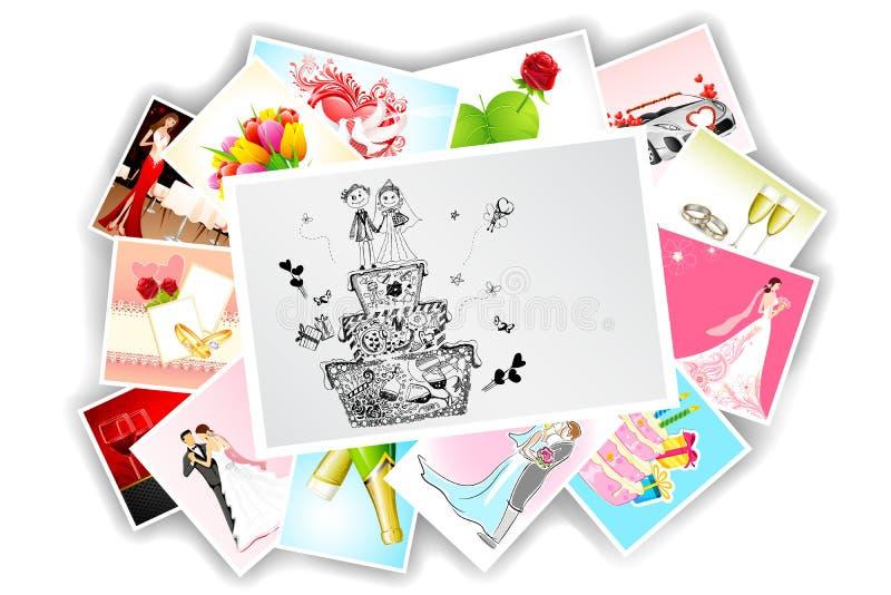 Wedding Photograph Stock Images