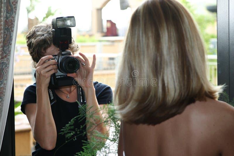 Download Wedding photographer stock photo. Image of model, flash - 129818
