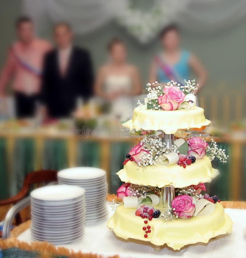 Wedding pie 5 stock photo