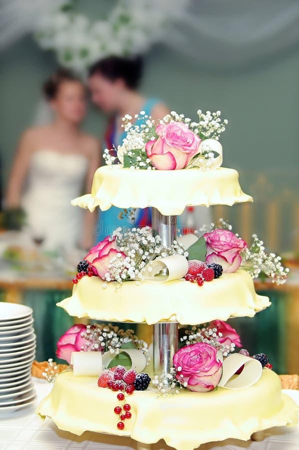 Wedding pie 7 royalty free stock photography