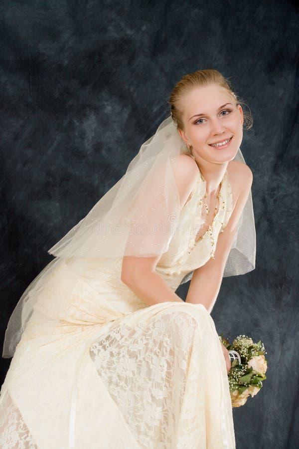 Wedding portrait royalty free stock photos
