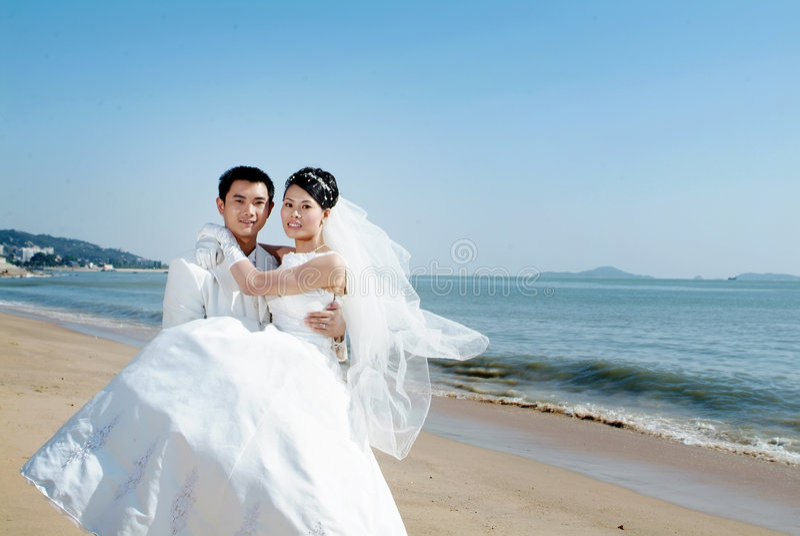 Wedding portrait royalty free stock images