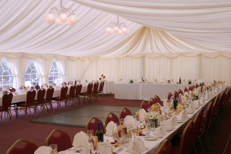Download Wedding Reception stock photo. Image of implement, seating - 2412868