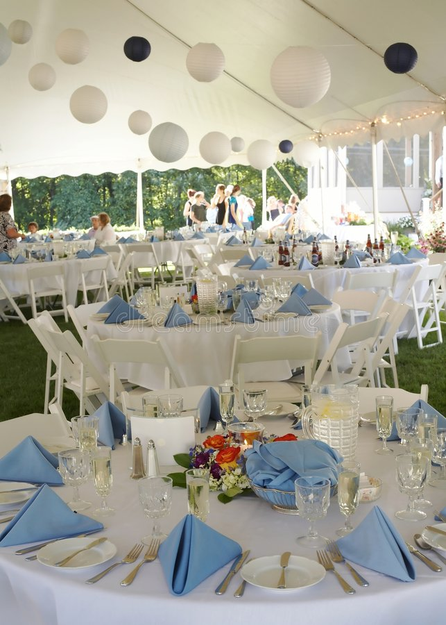Wedding Reception royalty free stock photos