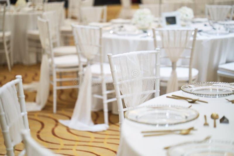 Download Wedding Reception Dinner Table Setup For Luxury Wedding  Celebration Stock Photo   Image Of Phuket