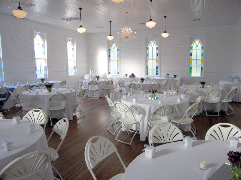 Wedding Reception Hall royalty free stock photography