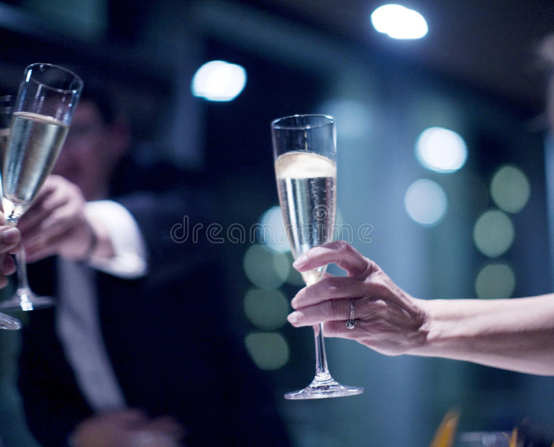 Wedding reception marriage party champagne. Wedding reception marriage event party champagne glasses drinks photo stock photo