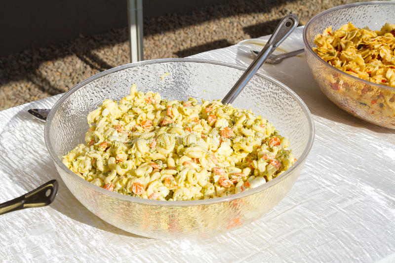 Wedding Reception Pasta Salad Stock Image - Image of dieting ...