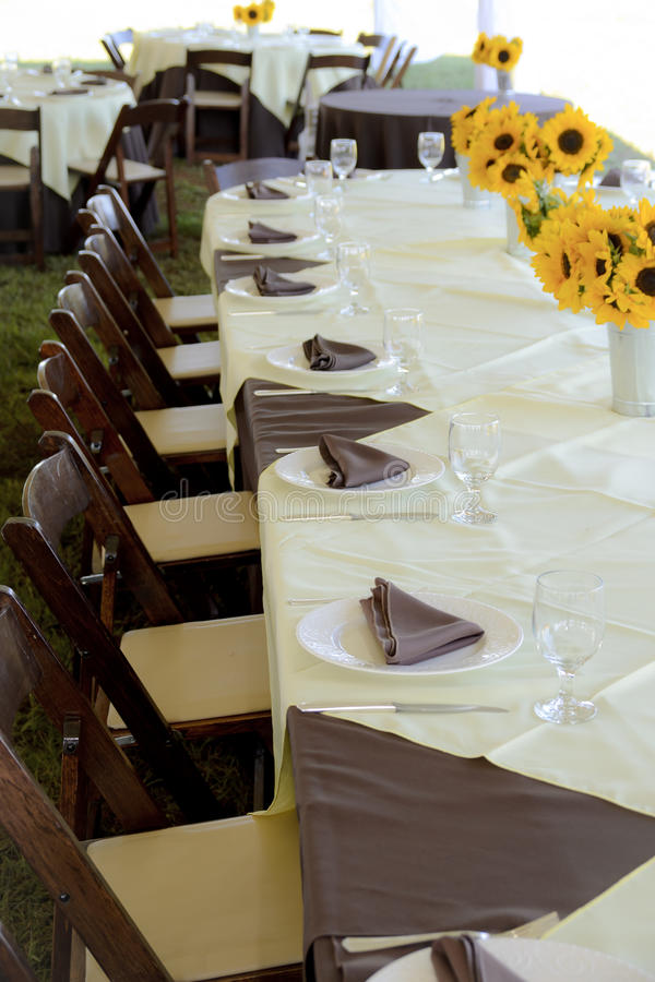 Free Wedding Reception Table Stock Images - 23732924