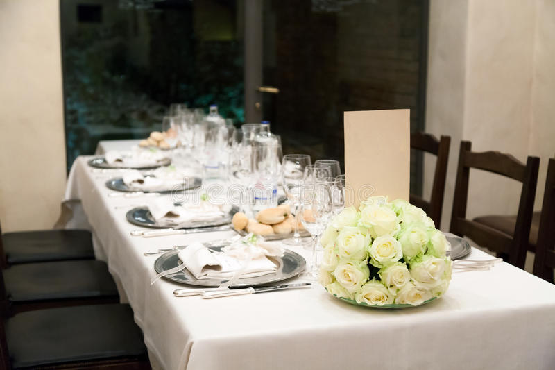 Wedding reception royalty free stock images