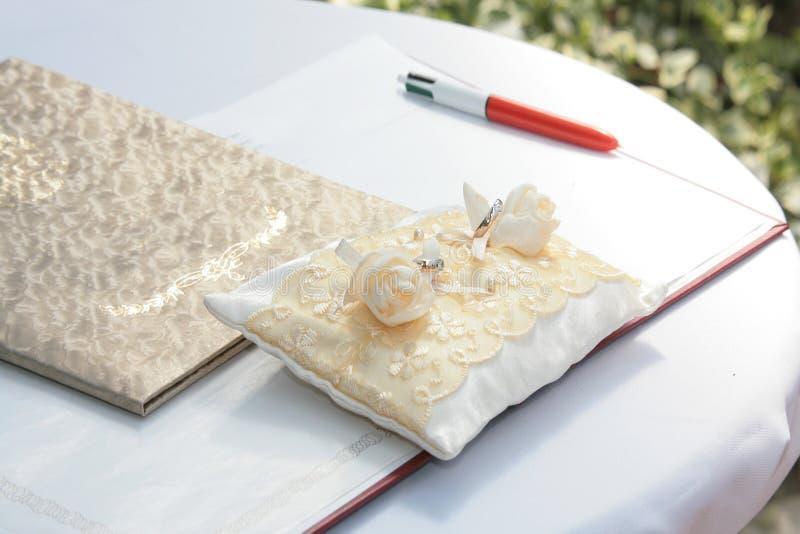 Wedding Registration Desk Royalty Free Stock Image