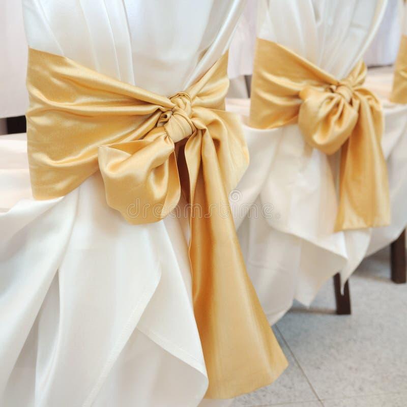 Wedding ribbon stock photography