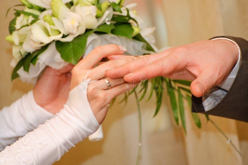 Wedding ring stock image