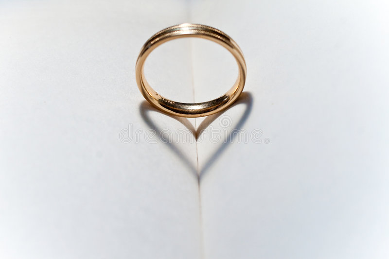 Download Wedding ring stock photo. Image of love, gold, ring, shadow - 8050498