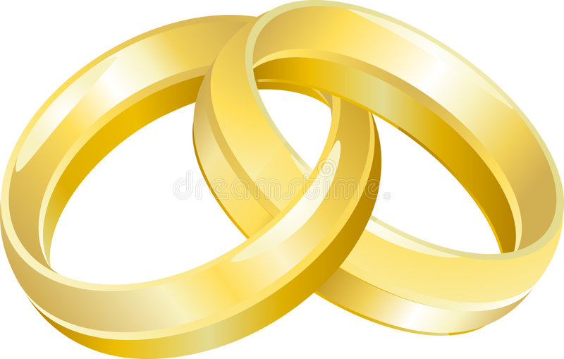 Download Wedding Ring Bands stock vector. Illustration of ring - 3260512
