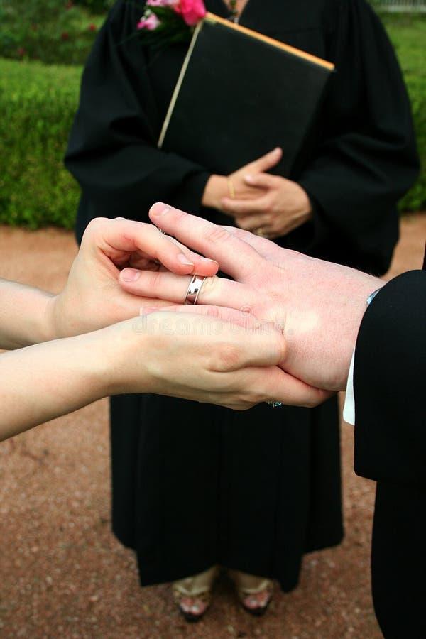 Free Wedding Ring Exchange Royalty Free Stock Image - 2996316