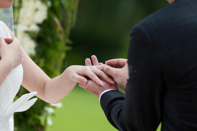 Download Wedding ring stock image. Image of couple, gift, gold - 34395945