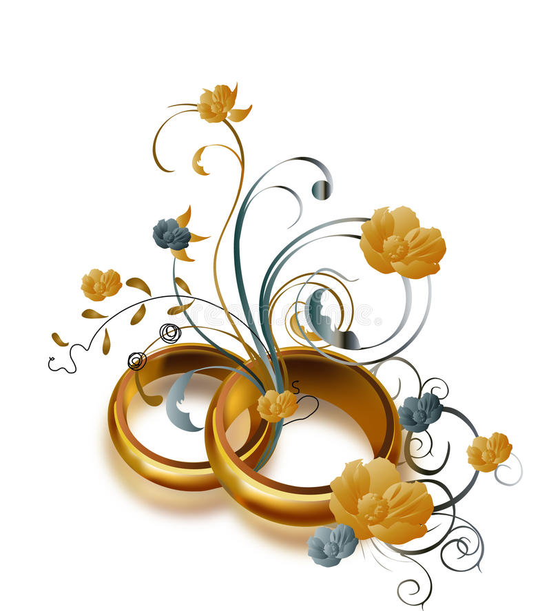 Free Wedding Rings Royalty Free Stock Images - 13011779