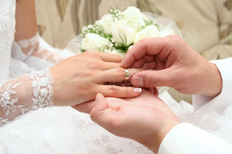 Download Wedding rings stock image. Image of marry, close, evening - 13340161