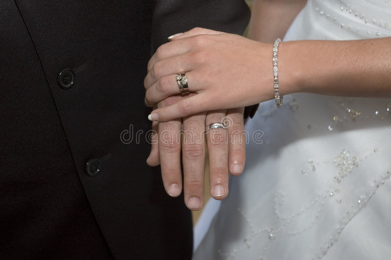 Wedding Rings stock photo