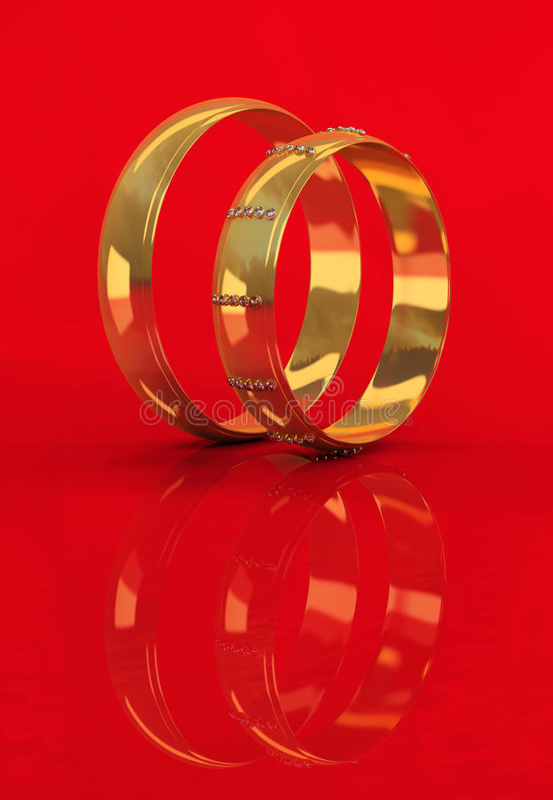 Free Wedding Rings Royalty Free Stock Photography - 18309857
