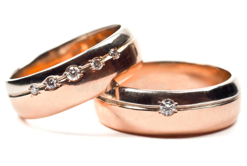 Download Wedding rings stock photo. Image of isolated, just, color - 19773886