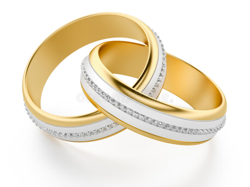 Wedding Rings vector illustration
