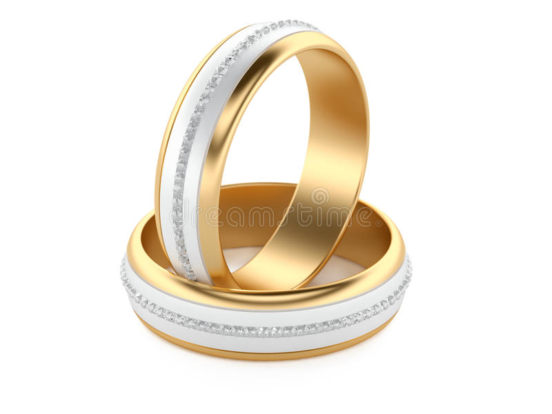 Wedding Rings stock illustration