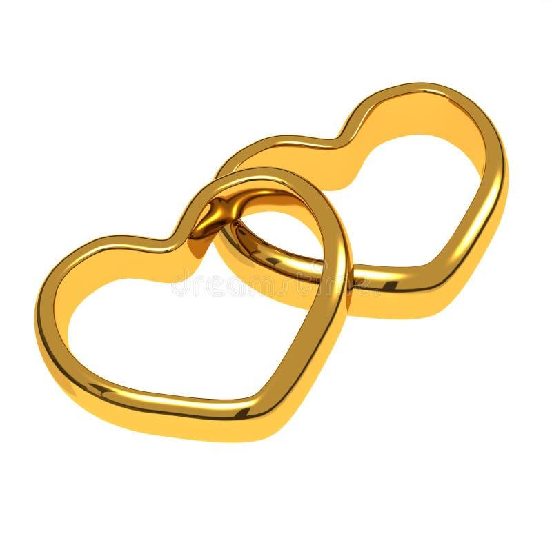 Download Wedding rings stock illustration. Image of alliance, love - 22677581