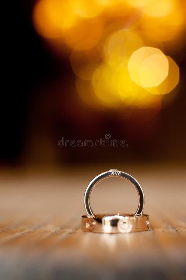 Download Wedding rings stock image. Image of desk, gems, gold - 23413483