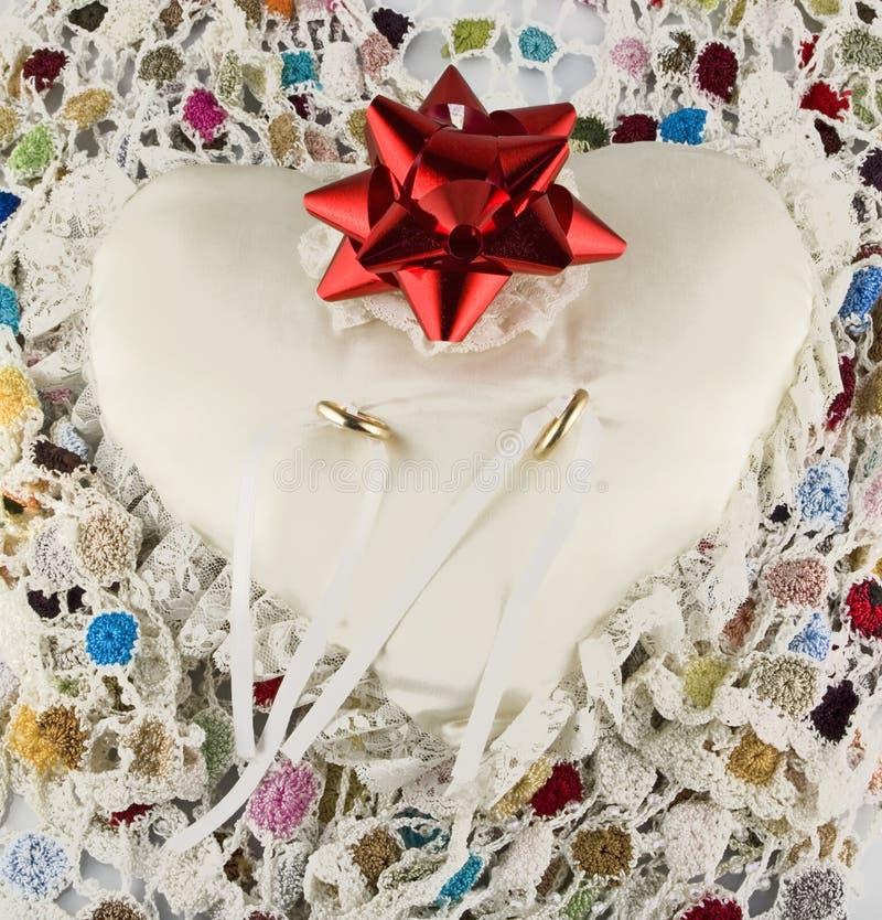 Download Wedding rings stock photo. Image of elegance, petals - 23545062