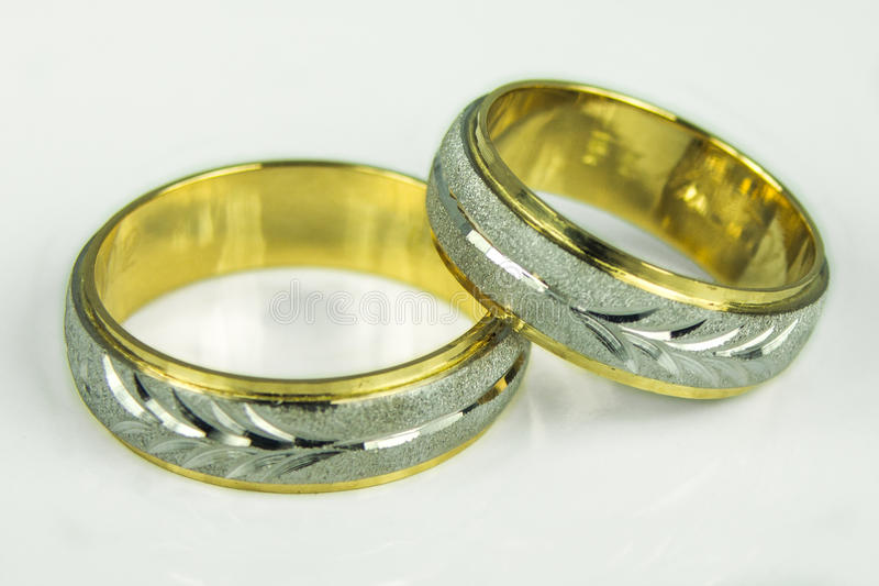 Download Wedding rings stock image. Image of satin, husband, made - 25391995