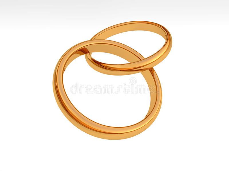 Download Wedding Rings stock illustration. Image of shiny, husband - 25792688