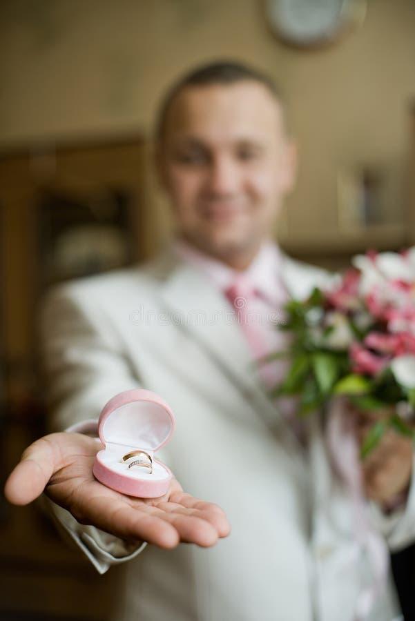 Download Wedding rings stock photo. Image of ring, hand, wedding - 26829066