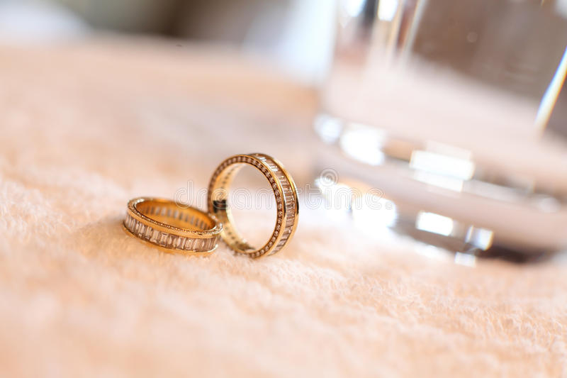 Download Wedding rings stock photo. Image of fiancee, white, pair - 28936664