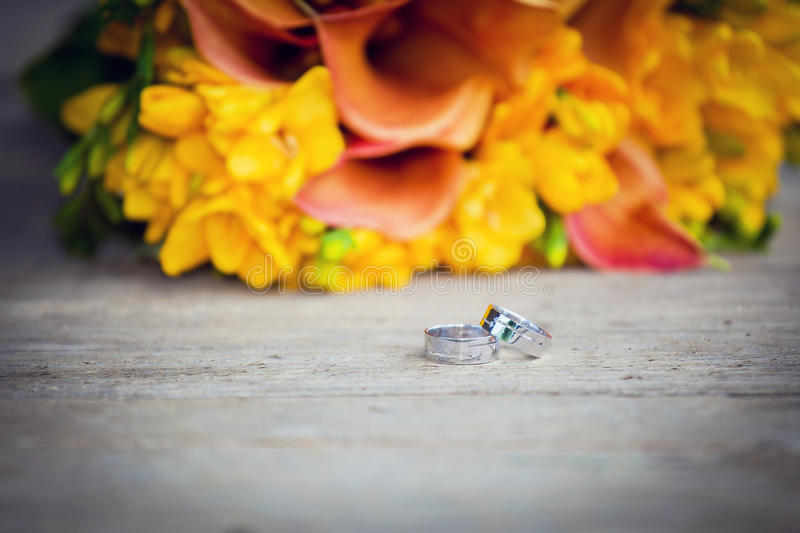 Download Wedding rings stock image. Image of romantic, commitment - 29295063