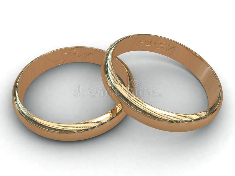Download Wedding rings stock illustration. Image of decoration - 3219595