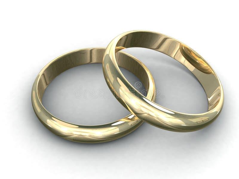 Download Wedding rings stock illustration. Image of love, decoration - 3334200