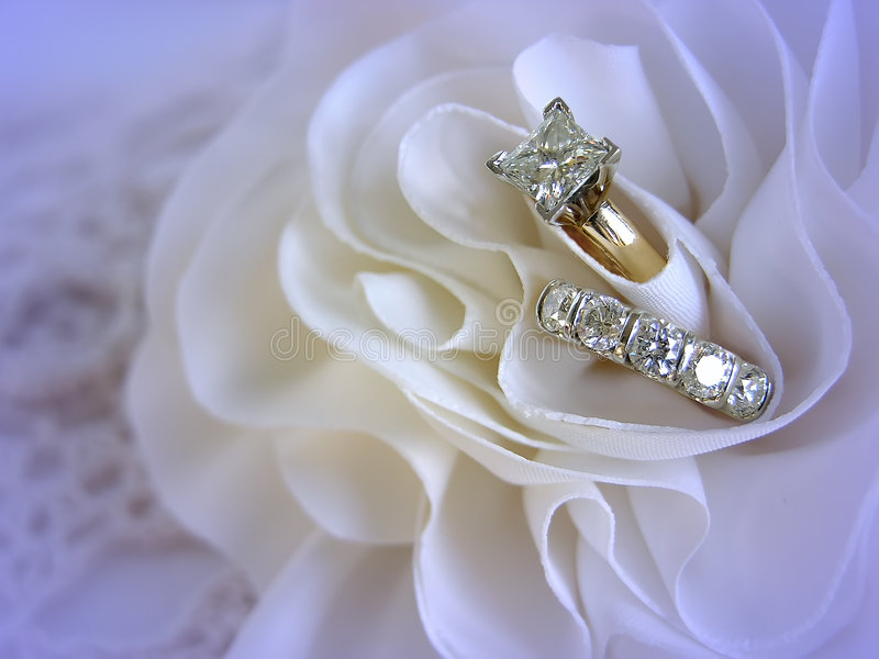 Download Wedding Rings stock image. Image of accessories, gems, background - 438853