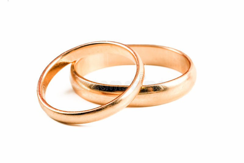 Download Wedding rings stock photo. Image of gold, reflection, symbol - 4504658