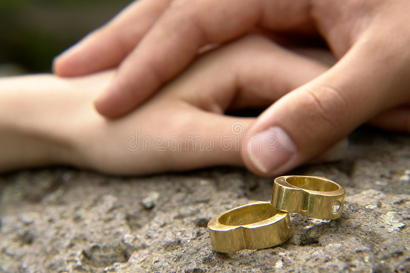 Wedding Rings 5 Royalty Free Stock Image