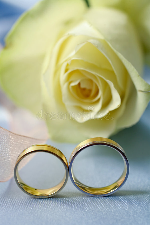 Free Wedding Rings Royalty Free Stock Photography - 5343077