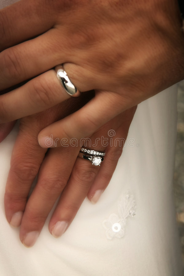 Download Wedding rings stock photo. Image of people, bride, diamond - 8820918